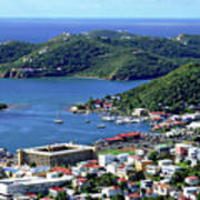 Virgin Island View Art Print