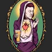 Virgin Meredith Art Print
