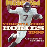 Virginia Tech Hokies 1999 A Season To Remember Sports Illustrated Cover Art Print