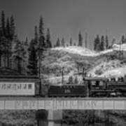 Virginia Truckee Railroad Art Print