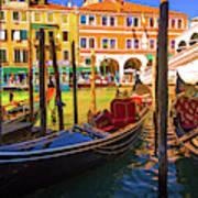 Visions Of Venice Art Print