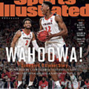 Wahoowa University Of Virginia 2019 Ncaa National Champions Sports Illustrated Cover Art Print