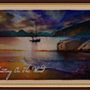 Waiting On The Wind Art Print