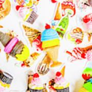 Wall Of Sweetness Art Print
