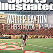 Walter Payton The Hero No One Knew Sports Illustrated Cover Art Print