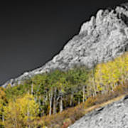 Waning Gibbous Moon Autumn Monarch Pass Bwsc Art Print