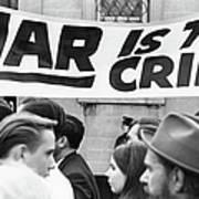 War Is The Crime Art Print