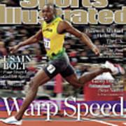 Warp Speed 2012 Summer Olympics Sports Illustrated Cover Art Print