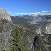 Washburn Point, Yosemite Np Art Print