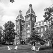 Washington And Jefferson College Old Main Art Print