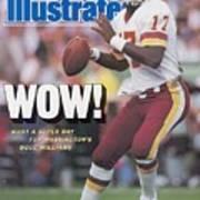 Washington Redskins Doug Williams, Super Bowl Xxii Sports Illustrated Cover Art Print
