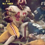 Washington Redskins Larry Brown... Sports Illustrated Cover Art Print