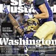 Washington Why The Huskies Can Win It, 2016 College Sports Illustrated Cover Art Print