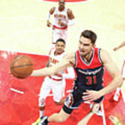 Washington Wizards V Atlanta Hawks - Art Print