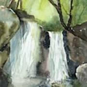 Watcom Falls Art Print