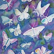 Watercolor - Butterfly Design Art Print