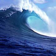 Waves Splashing In The Sea, Maui Art Print