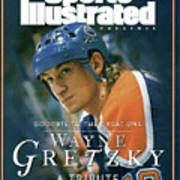 Wayne Gretzky Goodbye To The Great One, A Tribute Sports Illustrated Cover Art Print