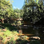 Webber Creek Bridge Art Print