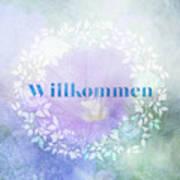 Welcome - Willkommen Art Print