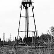 Weldwood Water Tower Art Print