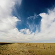 West Texas Grasslands United States Of Art Print