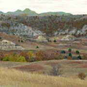 Western Edge Grasslands Grandeur Art Print