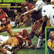 What A Comeback Usc And Anthony Davis Shatter Notre Dame Sports Illustrated Cover Art Print