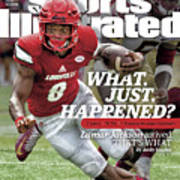 What. Just. Happened Lamar Jackson Arrived, Thats What Sports Illustrated Cover Art Print