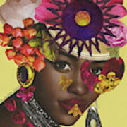 When African Eyes Are Smiling Art Print