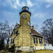 White River Lighthouse Art Print