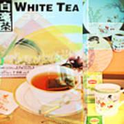 White Tea Blend  Art Print