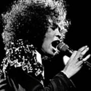 Whitney Houston Live In Concert Art Print