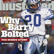 Why Barry Bolted The Inside Story Sports Illustrated Cover Art Print