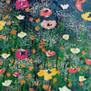 Wildflowers 2- Art By Linda Woods Art Print