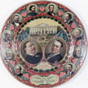 William-taft Election Souvenir Plate Art Print