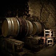 Wine Cellar Art Print