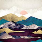 Wine Lake Art Print
