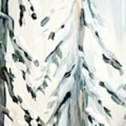 Winter Trees #4 Art Print
