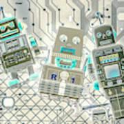 Wired Intelligence Art Print
