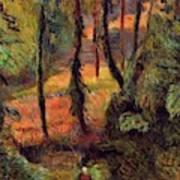 Wooded Path 1884 Art Print