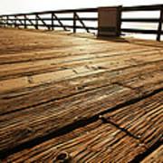 Wooden Pier Art Print