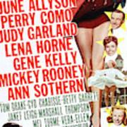 Word And Music 1948 Film Art Print