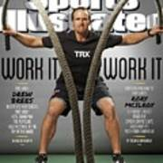 Work It, Work It 2014 Nfl Training Camp Sports Illustrated Cover Art Print