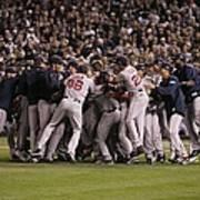 World Series Boston Red Sox V Colorado Art Print