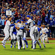 World Series - Kansas City Royals V New Art Print