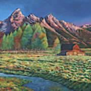 Wyoming Art Print