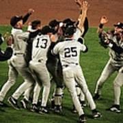 Yankees Celebrate Art Print