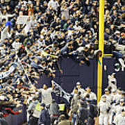 Yankees Fans Reach Out To Touch Art Print