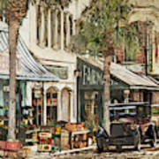 Ybor City Movie Set Art Print